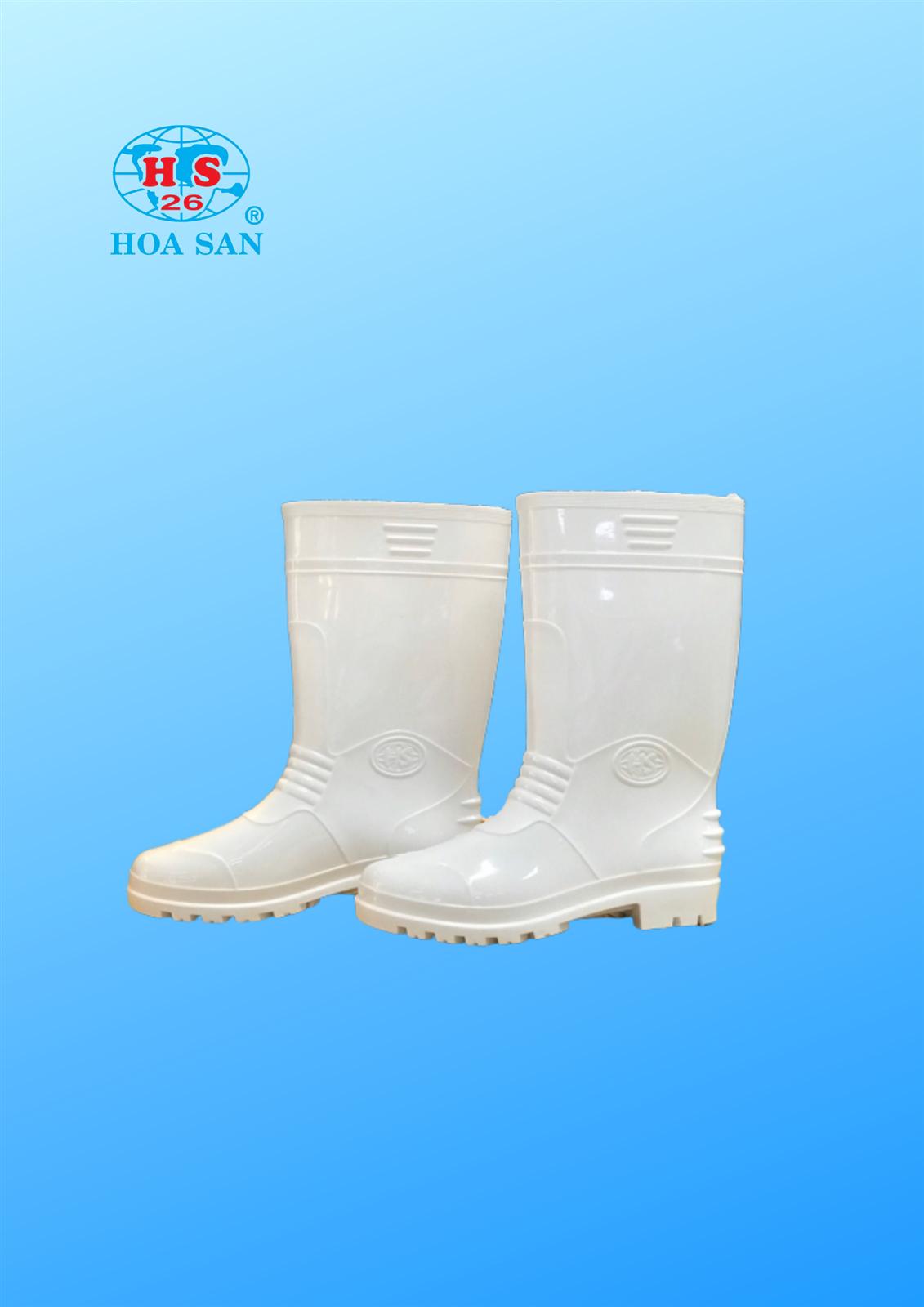 Ủng nam U01 trắng