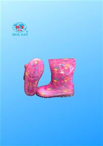 Ủng trẻ em họa tiết U012